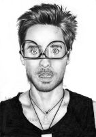 Jared Leto as Terry Richardson by alicia-R