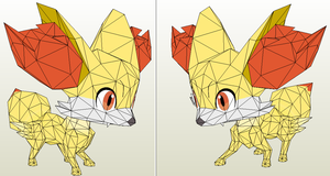Fennekin preview by javierini