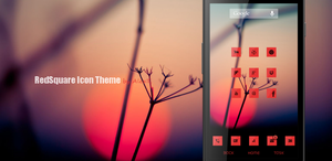 RedSquare Android Icon Theme by at428hk
