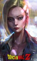Android 18 by ivangod
