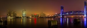 Downtown Pano of Duval by 904PhotoPhactory