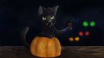 Happy Halloween - 2015 {+ Speedpaint] by IronMeow