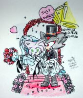 Just Married by 4-life-ShadAmy-luver
