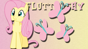 Fluttershy Wallpaper by BurningMyElectronics