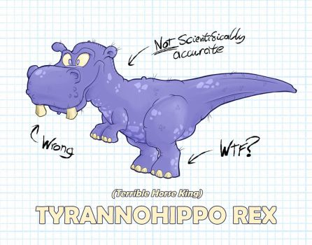 Tyrannohippo Rex (Terrible Horse King) by deadcal