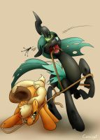 Pulling on her Strings by Conicer