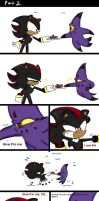A shadow comic part 2 --- CAKE by Nameless0404