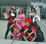 Kingdom Hearts Group by Kathrynsama