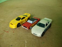Papercraft Plymouth HEMI Cuda Size Comparison by MarcGo26