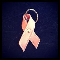 kick breast cancers ass! by MerrillsLeather