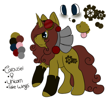 Carousel Reference Sheet 2014 by CollectionOfWhiskers