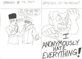 Opinions of stuff I hear then and now by Ninjasmacks