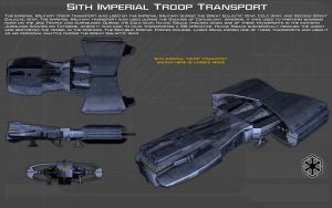 Sith Imperial Troop Transport ortho [1][New] by unusualsuspex