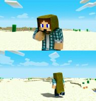 Minecraft Jack Adventure Desert Biome by Victim753