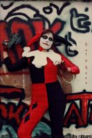 Harley Quinn non blond version by RotFront