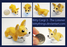 Bitty Corgi 3 - SOLD by Bittythings