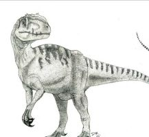 Allosaurus by WeatherFanatic