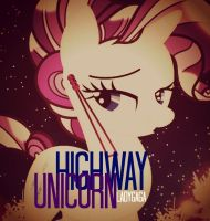 Highway Unicorn by CelestiasRevenge
