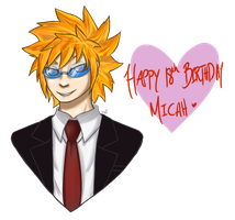 HAPPY BIRTHDAY MICAH by BP-wolf