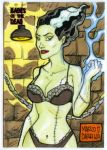 Bride of Frankenstein AP commission by mdavidct