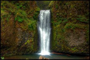 Fall Multnomah Falls by metro