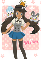 Airisu ~ and her mouse team by KurumiErika