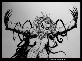 joker symbiote by Edge-Works