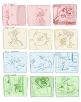 Boggart day 1- 4 by Linclair