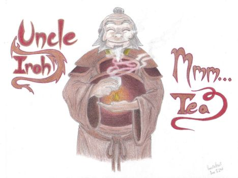 Uncle Iroh Mmm...Tea by ZukosSoul