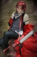 Black Butler Grell Sutcliff by clamp90357