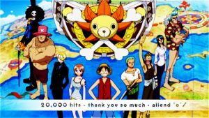 20,000 . one piece by ailend