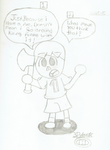 Villager Would like to say Something by 3DylanStar