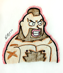 The Lips Of Zangief by chelano