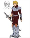 Phantasy Star IV Fangame - Chaz Update Concept by ultema
