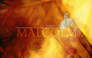 Wallpaper- Malcolm X by noor-maryam