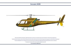 Eurocopter AS350 Central African Republic by WS-Clave