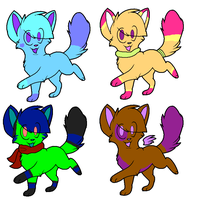 Draw to adopt Adopts OPEN by dovepaw3000