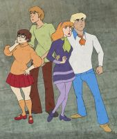 The Scooby Gang by cesca-specs