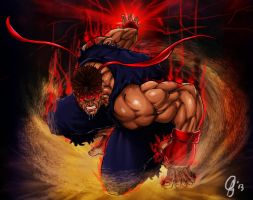 Ryu Satsui by Grapiqkad