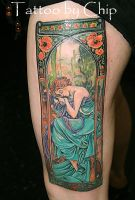 Mucha 2 by tattooedone