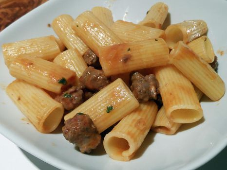 Pasta with sausage by kivrin82