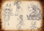 Mix Characters Sketch by PenguinEXperience