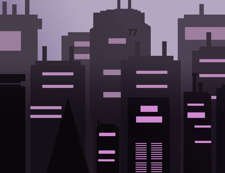 Pale Commercial City by Spoldier