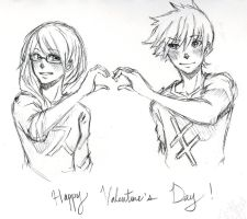 Valentine's Day 2013 by RyoutaTachibana