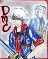 Devil May Cry - Nero and Vergil's Soul by V-Eclipse