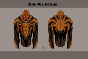 Spider Front Back by darknight7