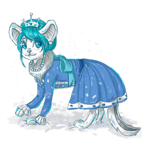 Syidelle - Neopets request by astro-cosmos
