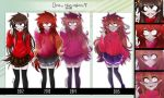 Draw this again - Fem!Kankri 2012-2015 by Nadi-Chan