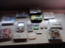 My Nintendo collection by lauratheyoshi