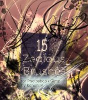 Zealous Brushes by kanonliv